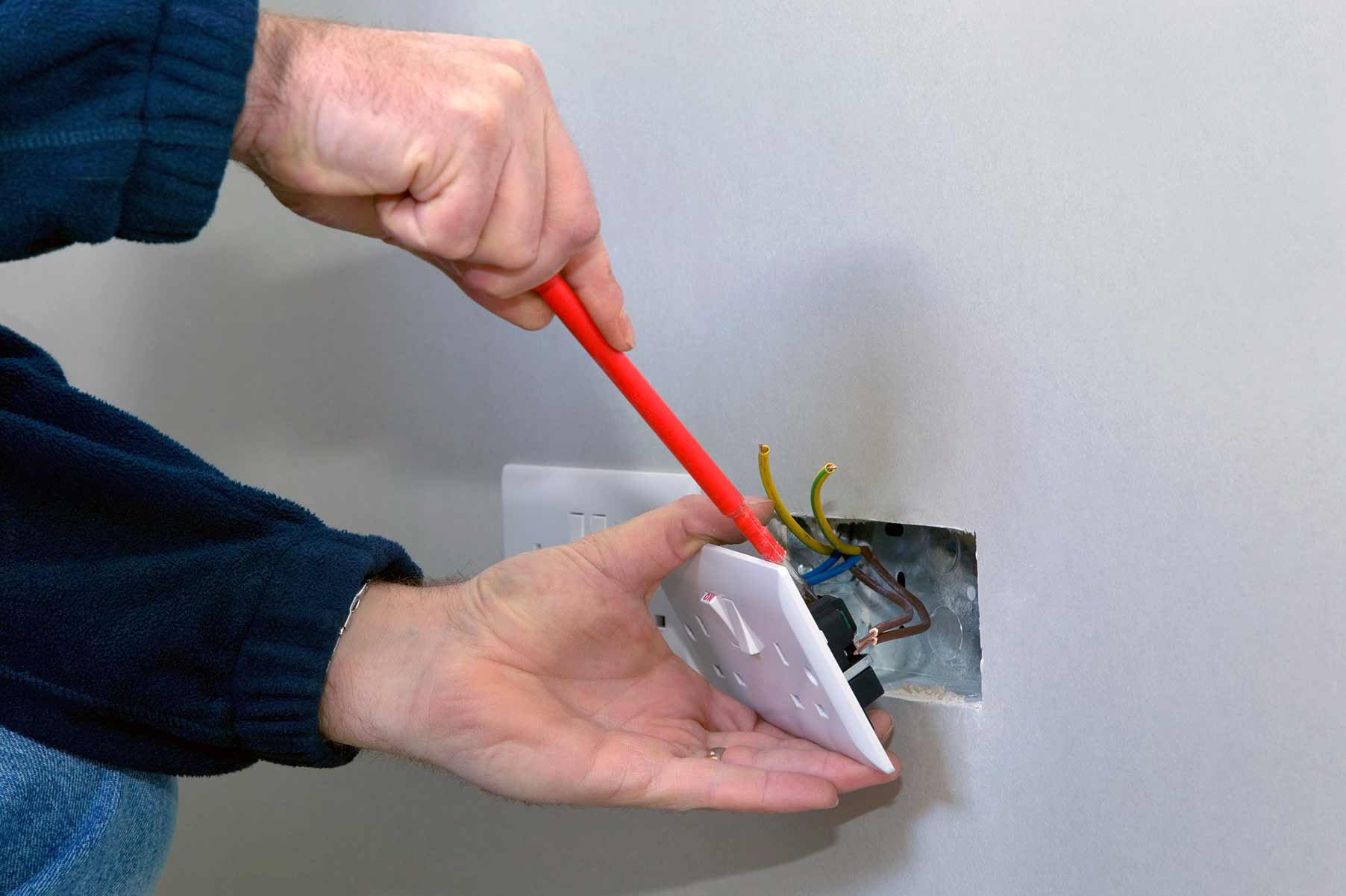 Our electricians can install plug sockets for domestic and commercial proeprties in Loughton and the local area.